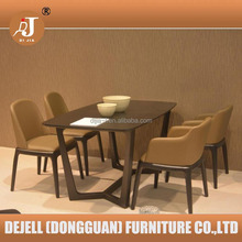 Dining Room Furniture Solid Wood Dinning Table Set Modern