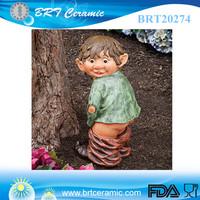 antique miniature polyresin statue custom garden gnome