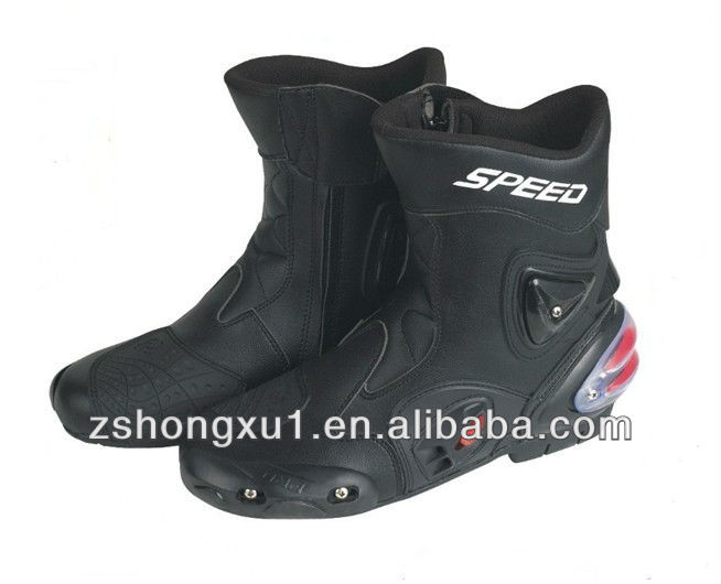 Motorcycle Leather Boot Used Mens Motorcycle Boots