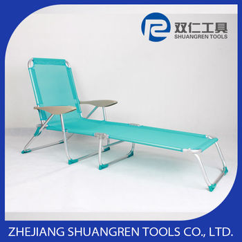 lightweight aluminum folding beach bed