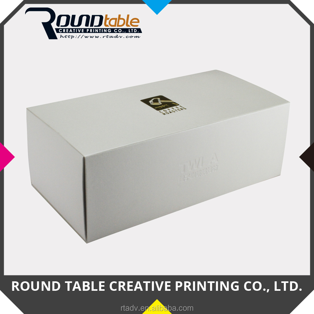Custom Sleeve Packaging Paper Box with Three Types Cardbord Inserts with Logo Hot Stamping for Gift