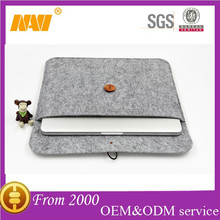 2015 new chinese factory produce felt protecive sleeve bag for PAD