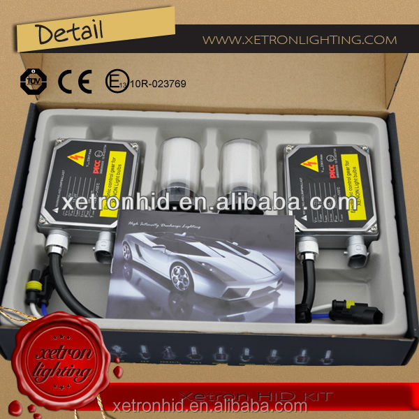 Waterproof Resistance AC 12v 35w HID xenon kit CANBUS ballast with Single Beam H4-3