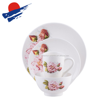 chaozhuo best selling decal ceramic dinner set, porcelain dinner set, tableware dinner set.