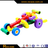 2014 New plastic building Block, educational toys for kids