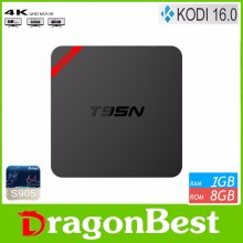 2016 best xbmc T95N Mini MX plus 4K S905 1G 8G quad core buletooth KODI 16.0 android 5.1 tv box