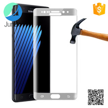 Newest Anti-fingerprint 9H tempered glass protector for Samsung Note 7 edge screen protector