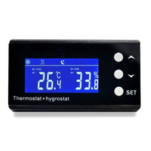 Temperature and Humidity Digital Regulator Controller KP-220 EU Hygro thermostat Thermo-Reptile hygrostat for Greenhouse Effect