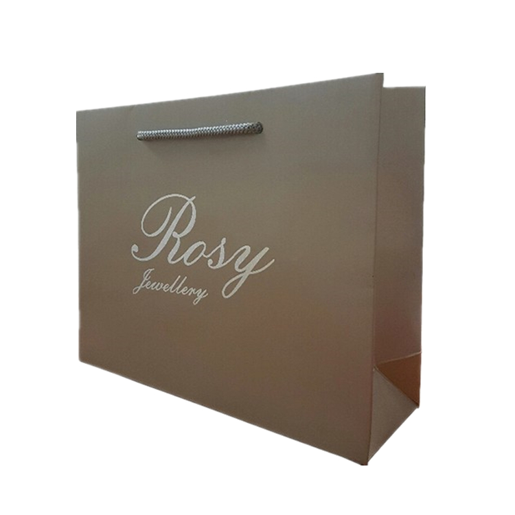 Cheap Custom Logo Printed Recycled Brown Shopping Gift Paper Bags