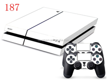 Wholesale Brand New Vinyl Decal Skin For Sony PS4 Skin Sticker-white