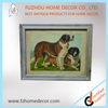 beautiful high quanlity doggie wooden printing picture frame