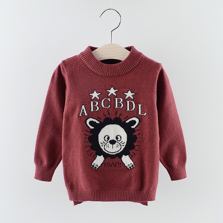 Hao Baby The New 2018 Winter Love Baby Upset Render Unlined Upper Garment Printing And Flocking T-Shirt