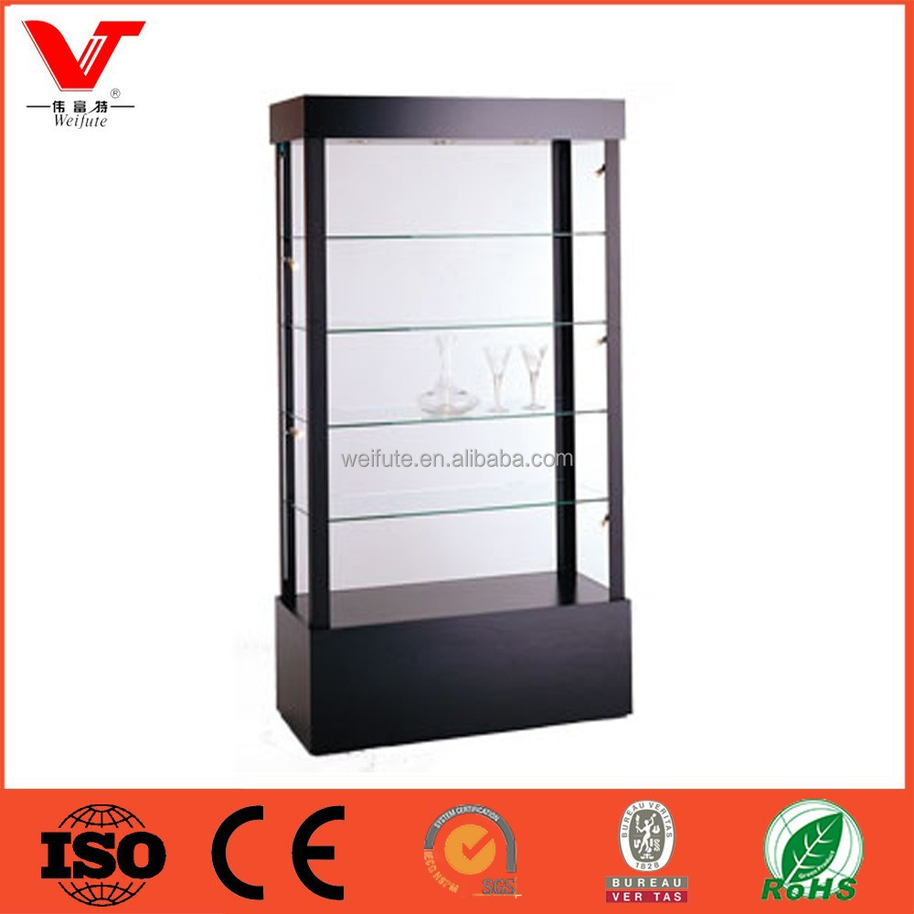 Open Glass Display Case For Sals