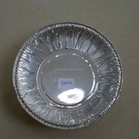 Disposable pollution free real factory produced Aluminum foil cake tray