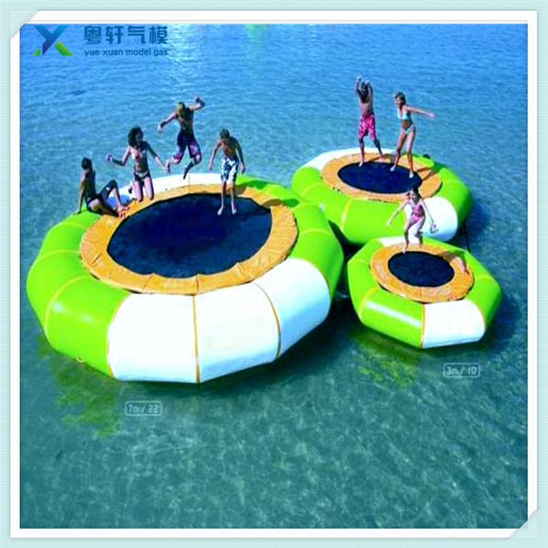 Water sports equipment inflatable water trampoline/water trampoline rental