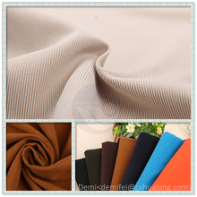 100% polyester tricot warp knitted customized width striped velvet / striation upholstery fabric for garment , sofa