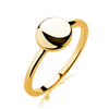 New Gold Plated 925 Silver Engagement Wedding Ring Mounting