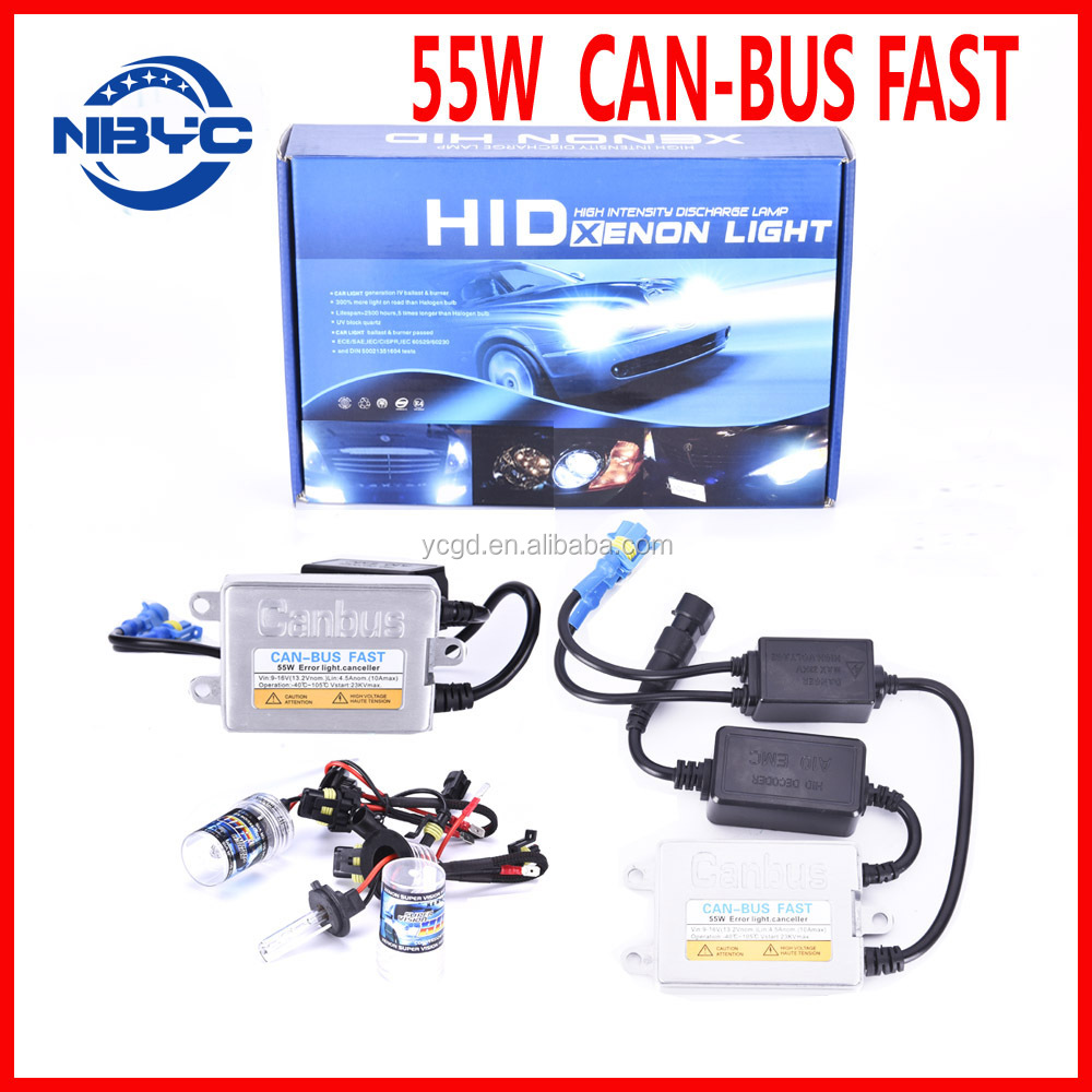 High Quality 55W Slim Canbus Fast Bright Ballast FOR HID Kit Canbus HID Ballast