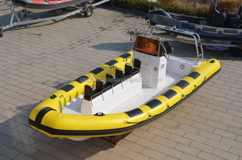 TORNADO 700 rigid inflatable boat/sightseeing boat tour/taxi boat/island explorer cruise boat