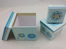 bottom shape paper jewellry box