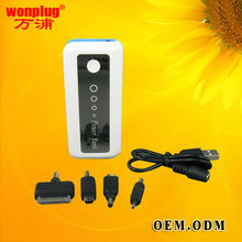 2012 popular portable power bank charge for iphone samsung