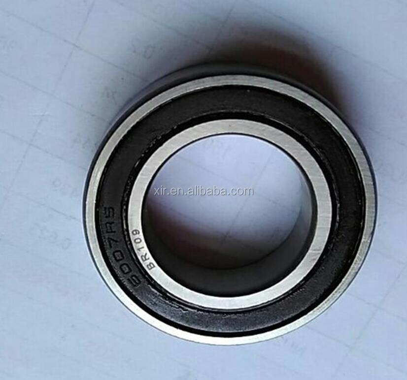 Deep groove ball bearing 6007-2RS chrome steel bearing ABEC-1