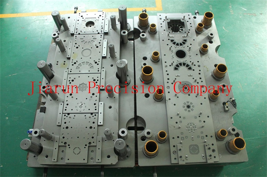 Precision progressive tooling progressive die for sheet metal