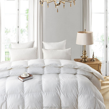 pure soft goose down comforter duvet inner for home and hotel at high quality