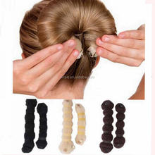 Salon Hair Styling Tools Sponge Twist Hair Curler Hair Rope Bun