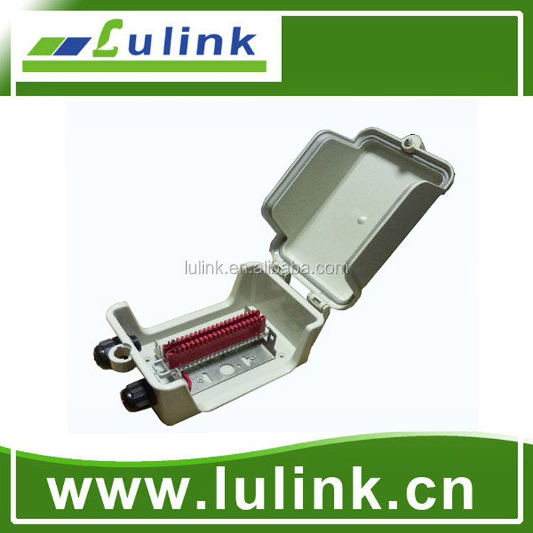 Telecom indoor electronic distribution box for copper cable