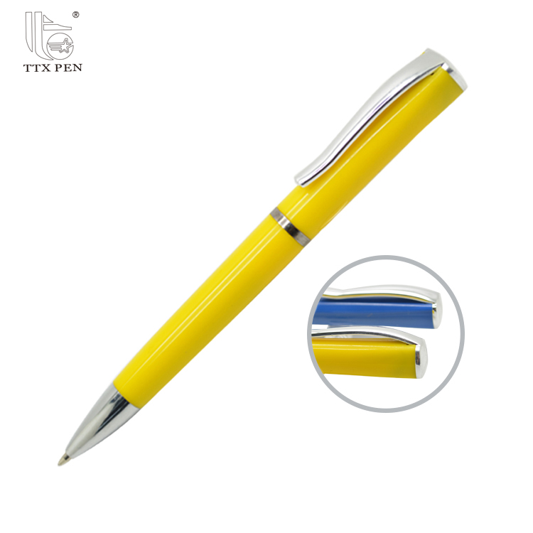 TTX brand cheap promotional personalized metal ballpoint pen