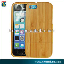 wholesale hot selling bamboo wood phone case for iphone 5c