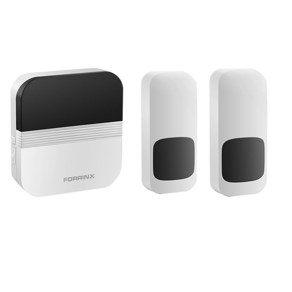 Forrinx direct supply water proof IP55 easy to install best long range wireless doorbell trademark wireless remote doorbell