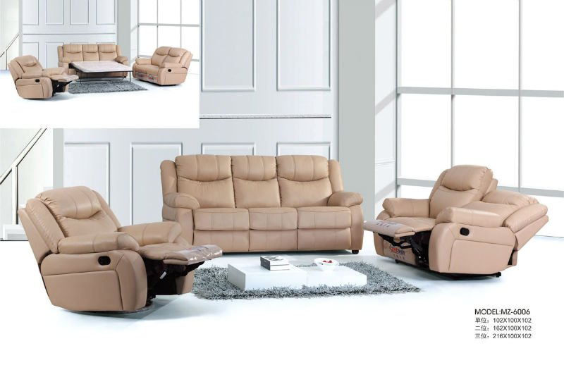 morden leather recliner sofa