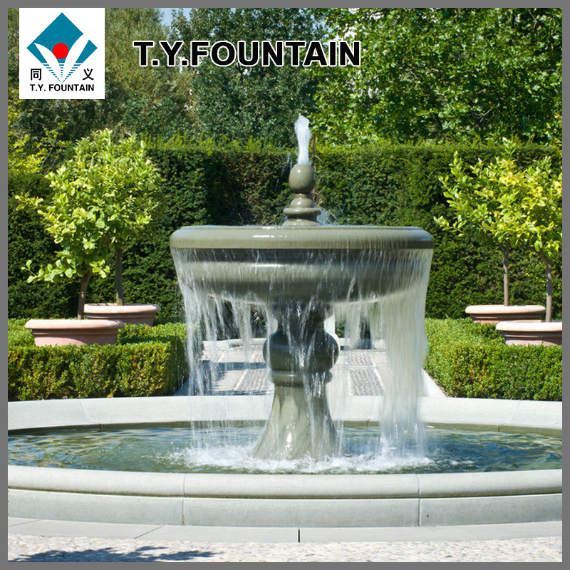 Certificated Sculpture Stone Water Fountain for Decoration