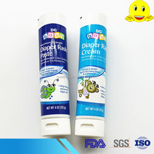 5 layers PE toothpaste tube container with flip cap