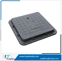 SMC manhole cover and frame, EN124 smc frp plastic water meter covers