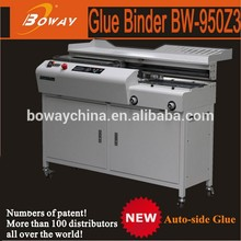 18 year Boway New 950Z3 perfect hot melt auto side glue Copy Shop binder