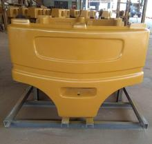 high altitude vehicle counterweight, overhead truck weight