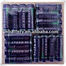1.5v High Capacity 0% HG&CD aa carbon zinc dry cell battery