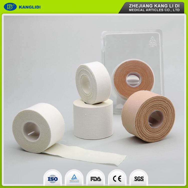 KLIDI Good Stickness China Factory Cotton Sports Athletic Strapping Tape