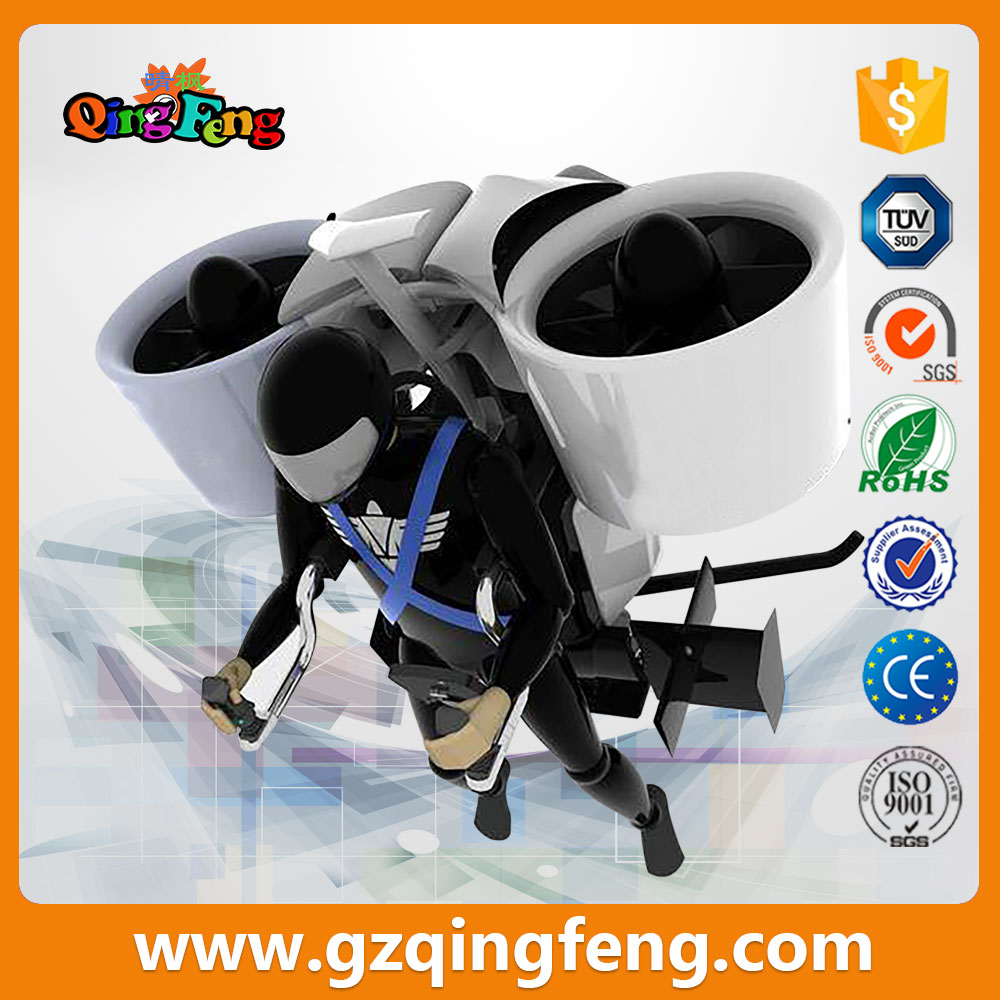 Qingfeng indoor amusement park 9D VR Flying Standing VR flight simulator game console
