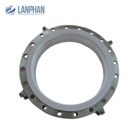 anti corrosion molded flange type bellows ptfe expansion joint
