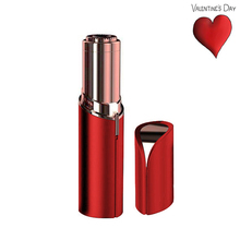 2018 Best Lip Stick Shape Hair Revoval Painless Ladies Facial Hair Remover