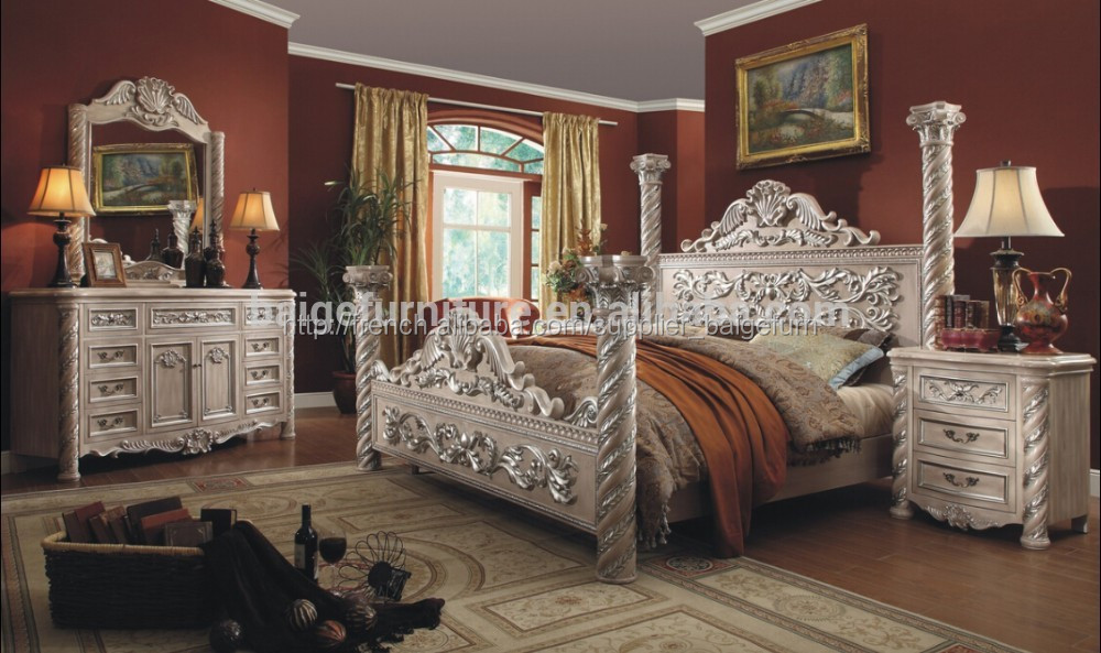 Bd 1201 meubles en bois modernes de conception double lit b b vendre ima - Lit baldaquin a vendre ...