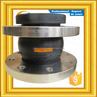 new design high pressure resistant single arch filled rubber bellows expansion joint for piping