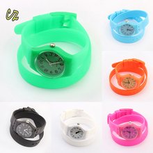 Cheap fashion wrist watches men women jewelry waterproof silicone bracelet watch wholesale