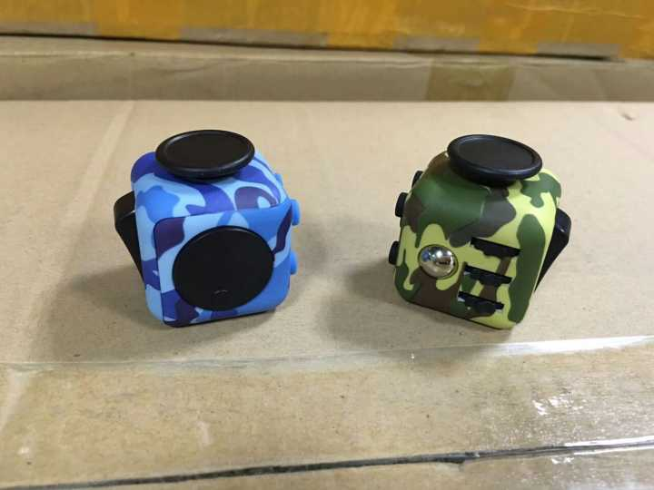 6 sides functions relief anxiety fidget cube funny adult toy 9 colors