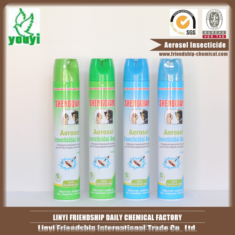 Best quality eco-750ml household hot shot anti aerosol insecticide