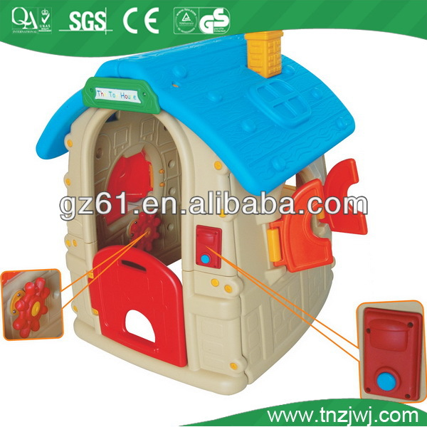 New design indoor mini kids games house,kids plastic toys